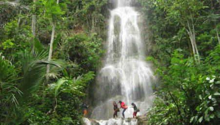 Lokasi Air Terjun Setawing