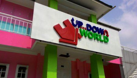 LOKASI UPSIDE DOWN WORLD JOGJA